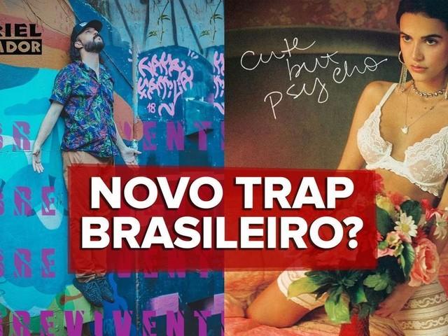 Gabriel O Pensador e Manu Gavassi no trap? Rapper e cantora lançam músicas bem parecidas