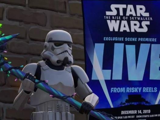 Confirmado! Fortnite exibirá cena exclusiva de Star Wars: A Ascensão Skywalker