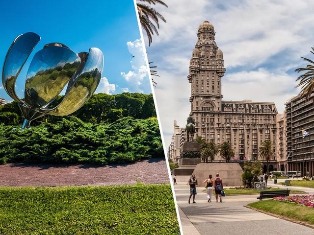 Passagens 2 em 1 para Buenos Aires mais Santiago ou Montevidéu a partir de R$ 1.029!