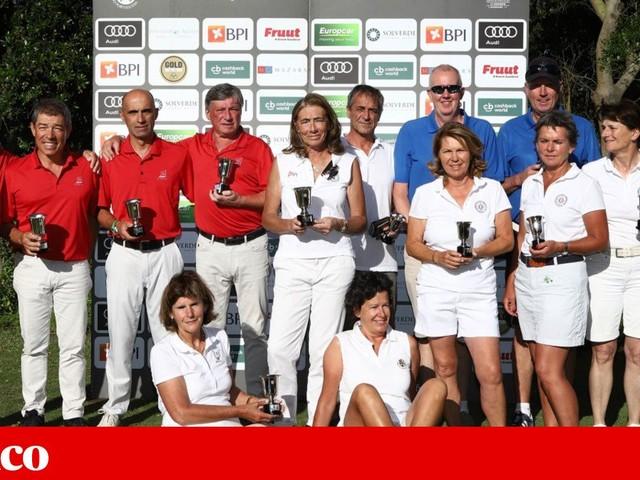 Aroeira e Estoril tricampeões de clubes seniores