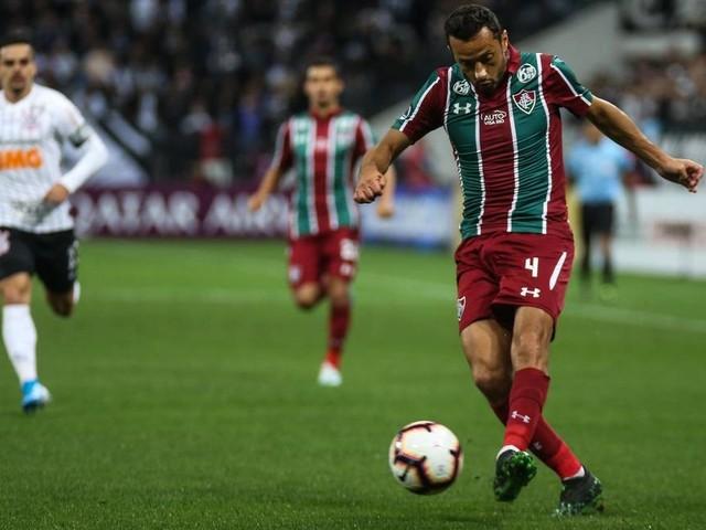 Destaque do Fluminense, Nenê valoriza empate em Itaquera: 'Decidir em casa'