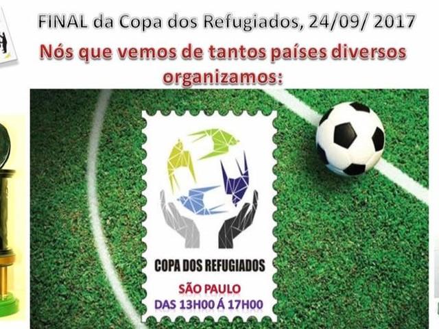 Copa integração dos Refugiados