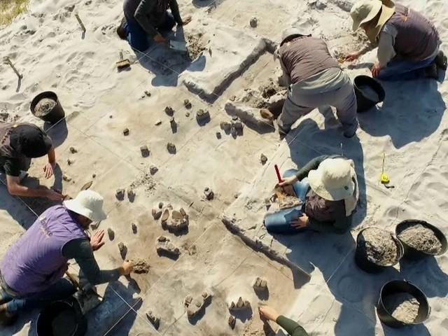 No Sul, objetos de índios e brancos do mesmo período são descobertos