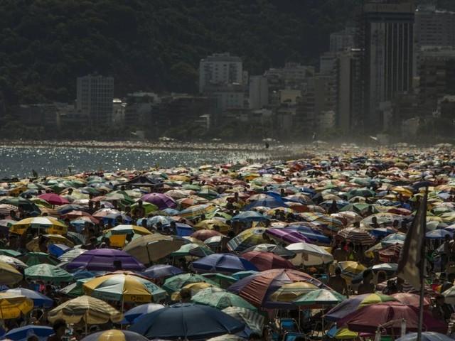 Rio registra sensação térmica de 45 graus neste domingo