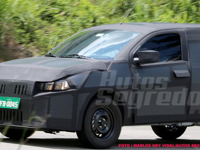 Confirmado: Nova picape Fiat será derivada do Mobi