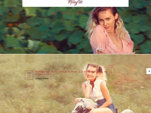 Inspired é o novo single de Miley e já está disponível na iTunes Store!