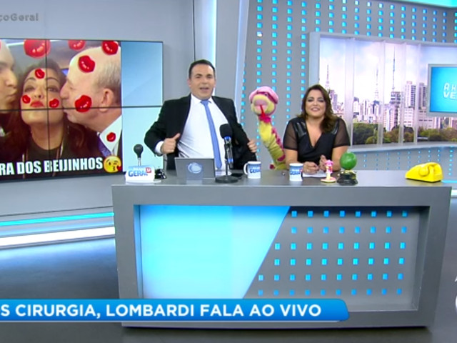 Após passar por cirurgia, Renato Lombardi proibiu visita de Gottino e Fabíola Reipert no hospital