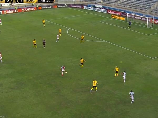 Libertadores | Guaraní (PAR) vence Palestino (CHI) por 1 a 0 no jogo de ida