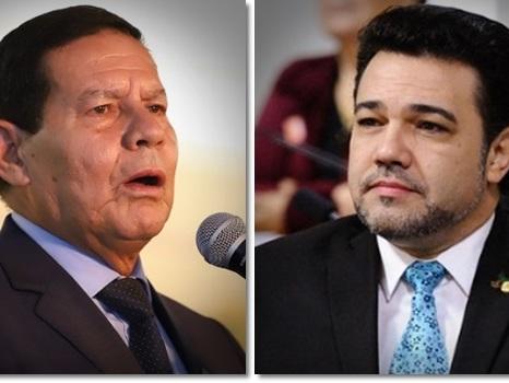 Pastor Marco Feliciano pede o impeachment de Hamilton Mourão