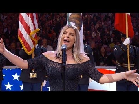 """Criticada, Fergie admite que """"não atingiu tom pretendido"""" no All-Star Game"""