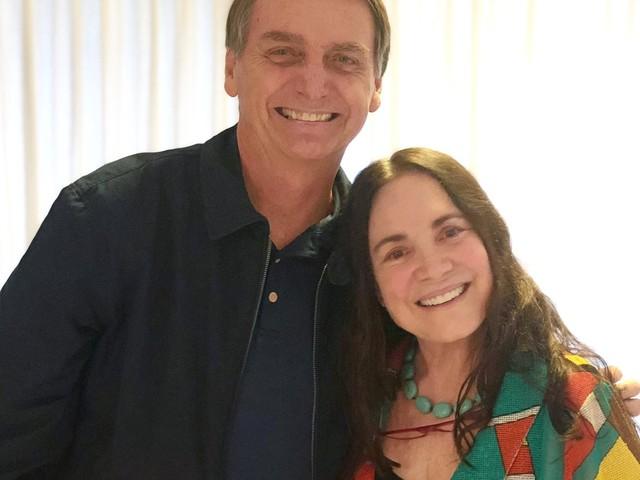 A trajetória de Regina Duarte na política, do 'eu tô com medo' ao convite para integrar governo Bolsonaro