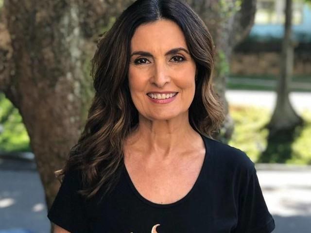 Fátima Bernardes, recuperada de um câncer, comemora a vacina emergencial da covid-19