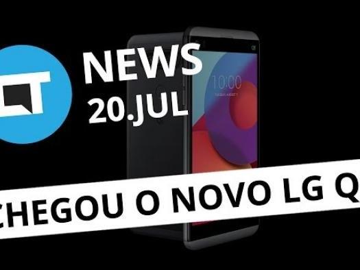 LG apresenta o Q8; Banco de vozes aberto e gratuito da Mozilla e+ [CT News]