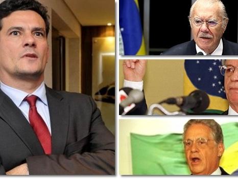 Sergio Moro blinda institutos FHC, Sarney e Itamar