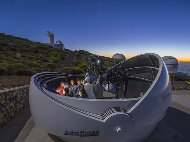 Un telescopio para detectar señales ópticas de ondas gravitacionales