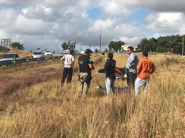 Motociclista morre ao sair de pista quando voltava de confraternização na Paraíba
