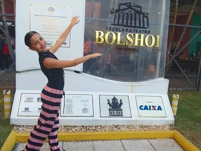 Menina do interior de SP é aprovada em seleção para Ballet Bolshoi: 'Meu maior sonho'