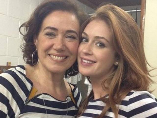 Diante de enorme repercussão, Lilia Cabral abre o jogo e resolve falar de suposta briga com Marina Ruy Barbosa