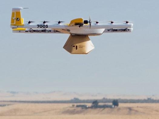 Alphabet levará divisão de entregas por drones para a Finlândia em 2019
