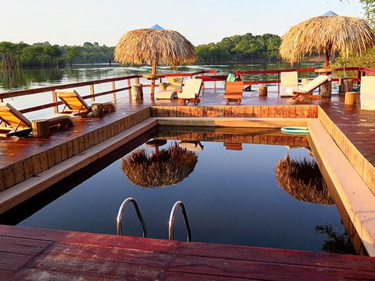Hotel de Selva, conheça o Juma Amazon Lodge
