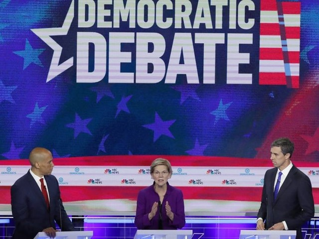 Primeiro debate do Partido Democrata tem ataques à desigualdade econômica e saúde universal entre principais temas