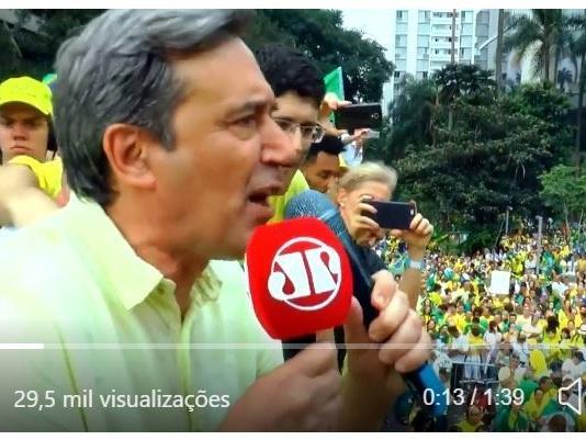 Vídeo de 1 minuto mostra como a mídia levou o Brasil ao fundo do poço
