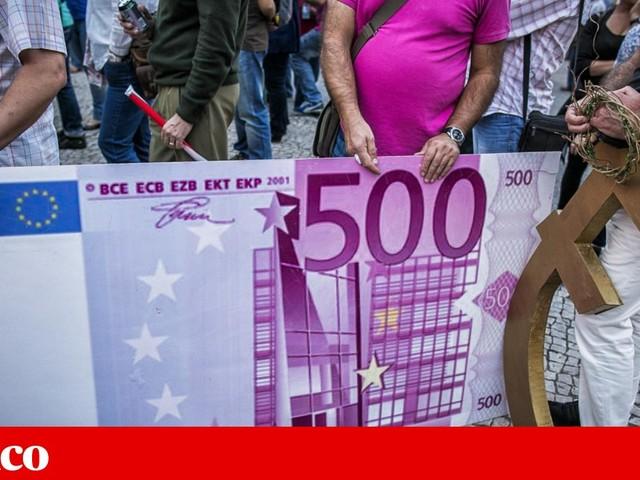Notas de 500 euros saem de circulação no fim deste mês