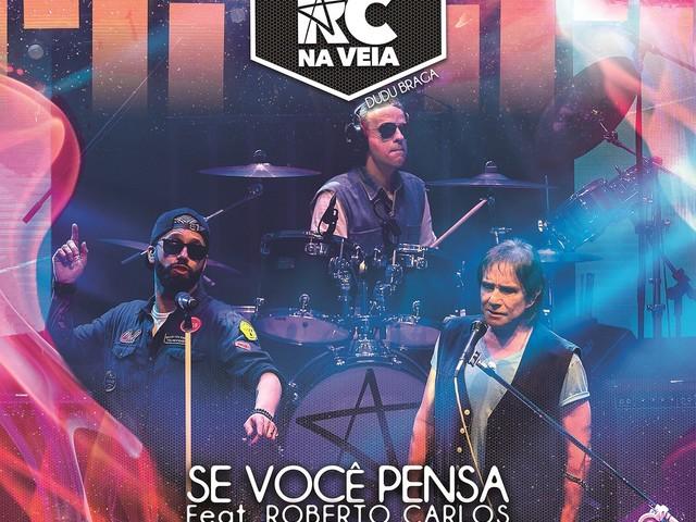 Grupo RC na Veia promove single com a voz de Roberto Carlos em música lançada pelo cantor há 50 anos