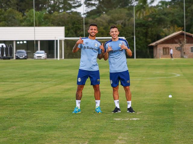 Pepê crê que intertemporada servirá para o Grêmio voltar mais forte