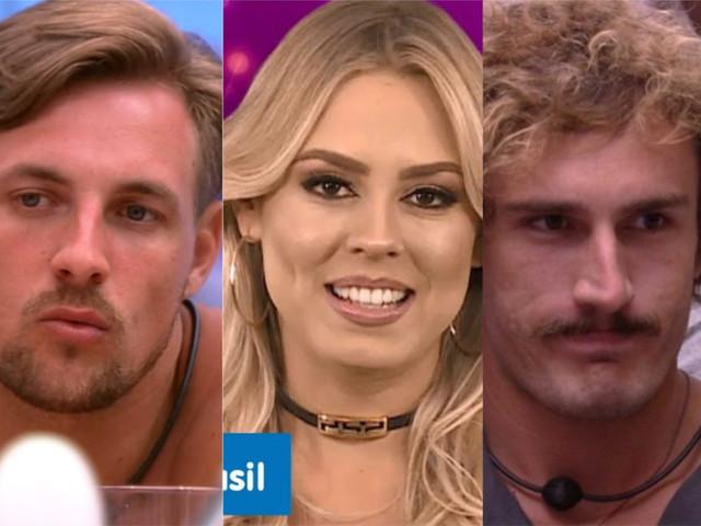 Alan, Diego e Isabella estão no paredão do BBB19; vote na enquete e veja quem deve sair