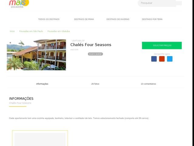 Chalés Four Seasons - Ubatuba - SP