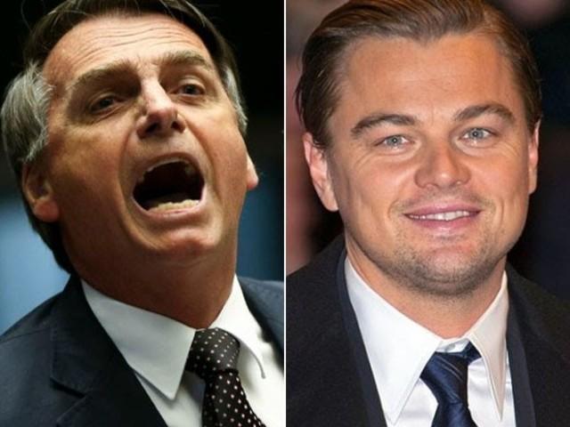 Bolsonaro acusa Leonardo DiCaprio de 'tacar fogo na Amazônia'