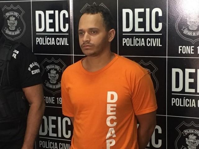 Homem é preso em Goiás suspeito de aplicar golpes em ao menos sete pessoas na compra de carros pela internet