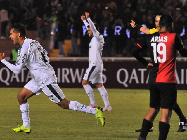 Palmeiras atropela o Melgar, se classifica e assume a liderança na Libertadores