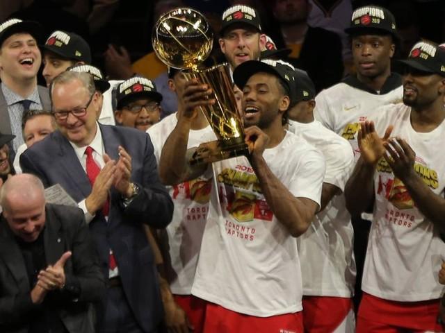 Toronto Raptors vencem Golden State Warriors na Califórnia e levam o primeiro título da NBA em sua história