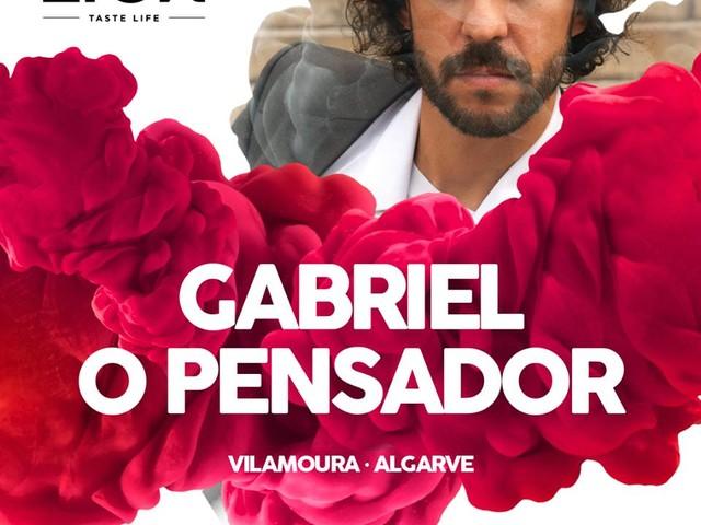 Gabriel, O Pensador em Vilamoura