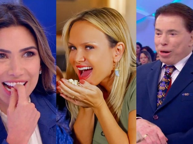 Patricia Abravanel questiona alto salário de Eliana no SBT e toma bronca de Silvio Santos