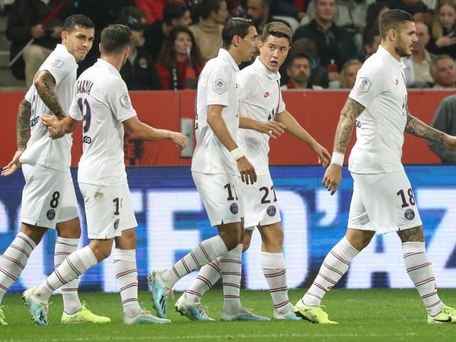 Com dois de Di María, PSG goleia Nice no Campeonato Francês
