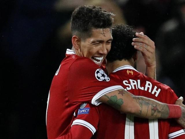 Salah e Firmino brilham, Liverpool goleia a Roma e paquera a final da Champions