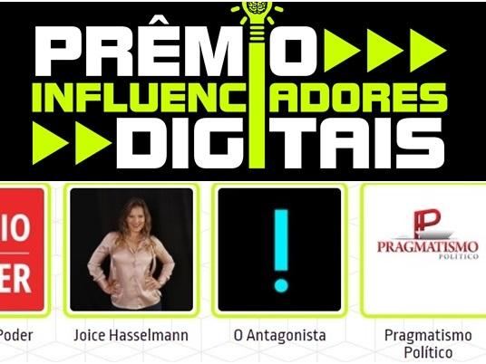 Pragmatismo Político é finalista do Prêmio Influenciadores Digitais 2017
