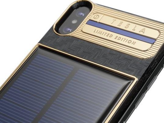 Este iPhone X custa R$ 16 mil e pode ser carregado com energia solar