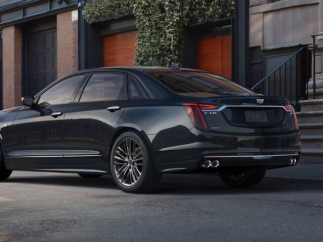 Cadillac CT6 V-Sport 2019 ganha motor V8 Twin Turbo - EUA