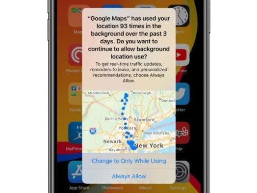 Apple defende avisos do iOS 13 sobre apps que rastreiam localização