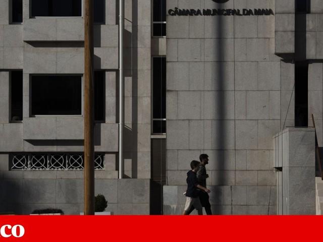 Antiga EN13 cortada na Maia devido a aluimento