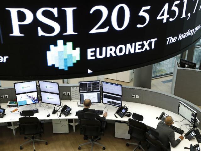 Bolsa nacional negoceia na linha de água em dia misto na Europa