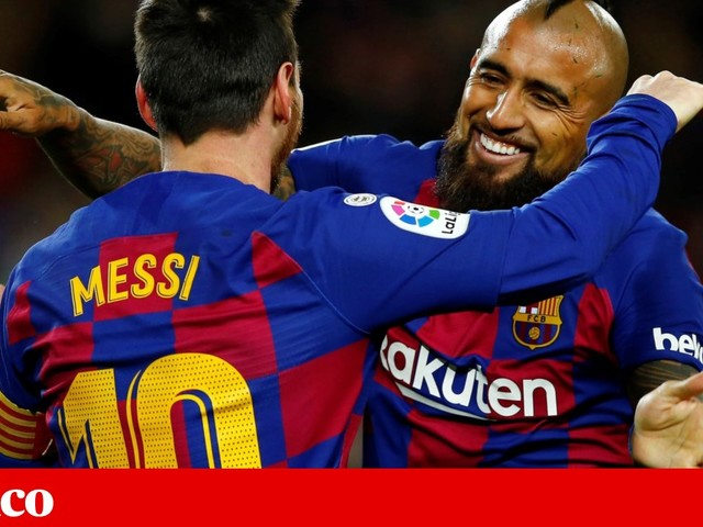 Golo de Messi vale vitória e liderança da Liga para o Barcelona