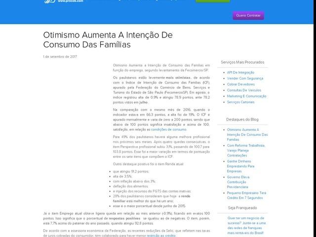 Otimismo Aumenta A Intenção De Consumo Das Famílias