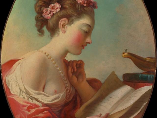 Imagem de leitura — Jean-Honoré Fragonard