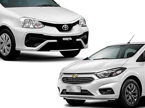 O que comprar: Chevrolet Onix Advantage ou Toyota Etios X