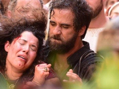 Record promete cenas fortes em sequência do apedrejamento em Jesus